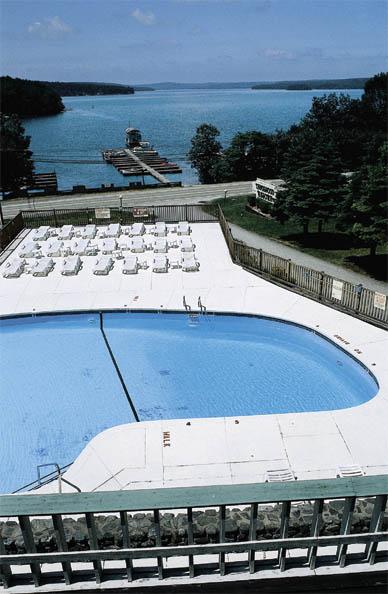 Tanglwood outdoor pool