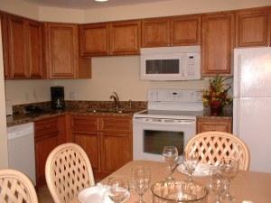 Island Gulf Resort Kitchen area